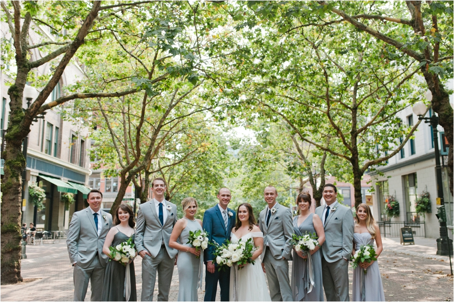 21 Occidental Park Wedding Portraits Meredith Mckee Photography Seattle Maternity Newborn And Family Photographer